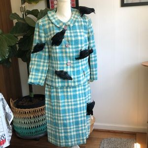 Pendleton Suit HALLOWEEN THE BIRDS